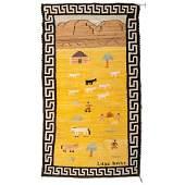 Lillie Bahe (Dine, 20th century) Navajo Pictorial