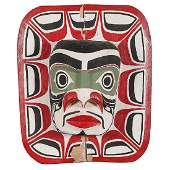 Ellen Neel (Kwakwaka'wakw, 1916 - 1966) Carved Mask,