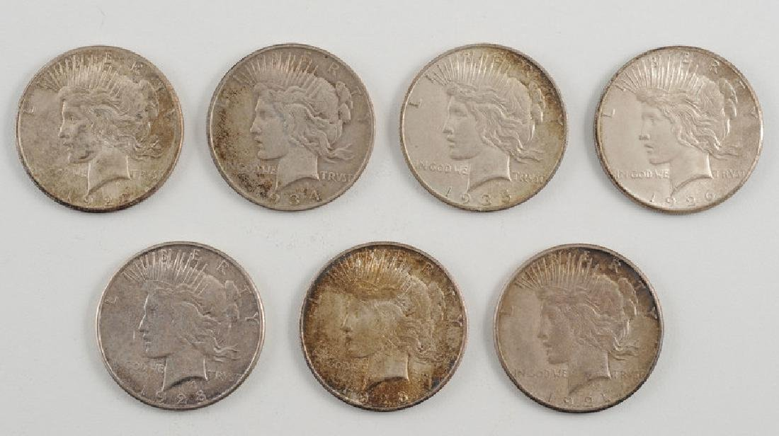 United States Peace Silver Dollars