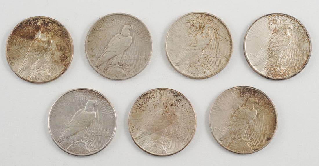 United States Peace Silver Dollars - 2
