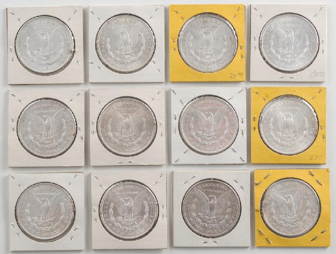 United States Morgan Silver Dollars 1889,1890,1891 - 2