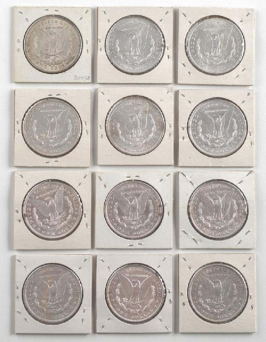 United States Morgan Silver Dollars 1894,1896,1897,1900 - 2