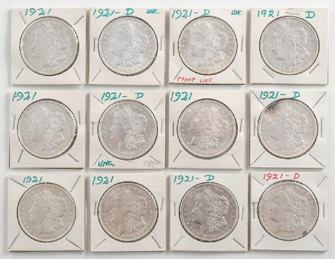 United States Morgan Silver Dollars 1921
