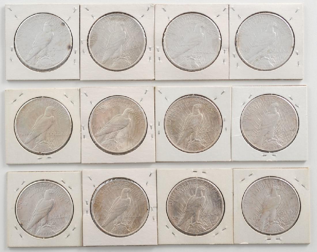 United States Morgan Silver Dollars 1922 - 2