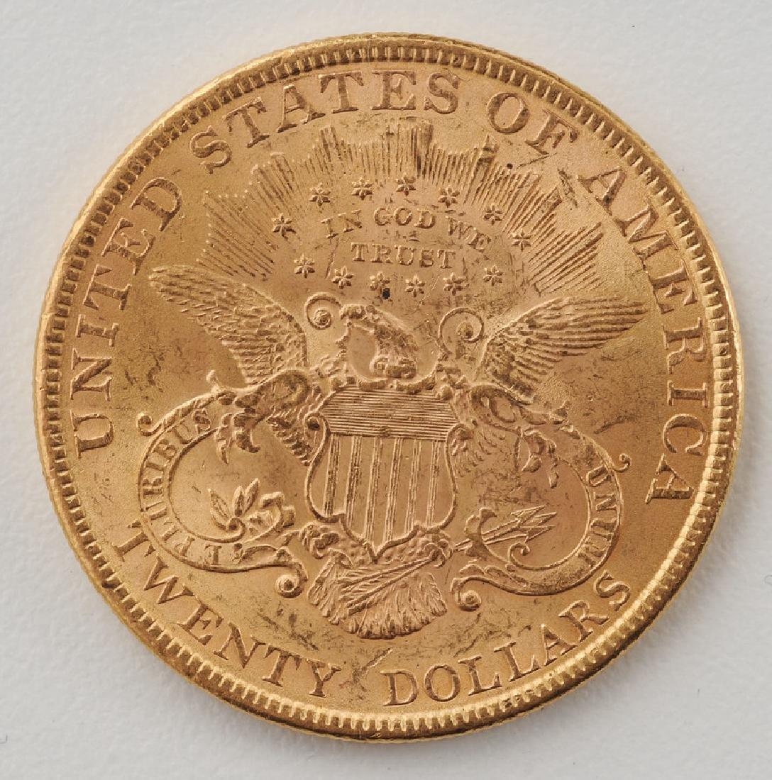 United States 1899 Liberty Head Double Eagle Twenty - 2