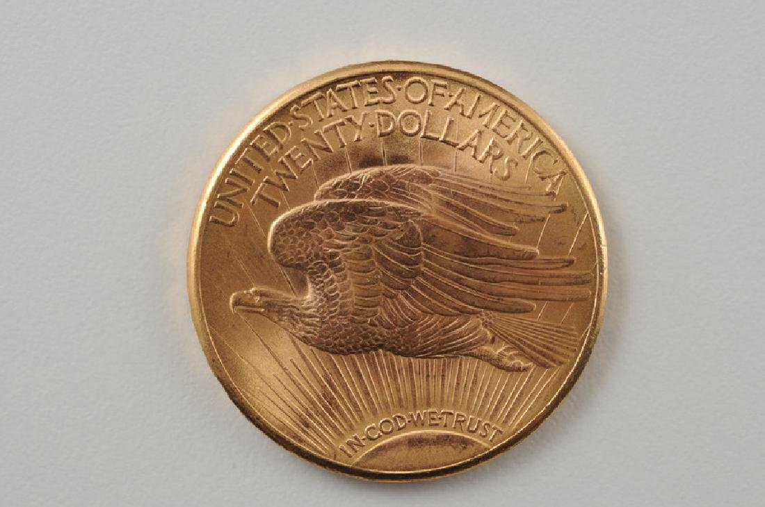 United States 1923 D Saint Gaudens Double Eagle in Gold - 2