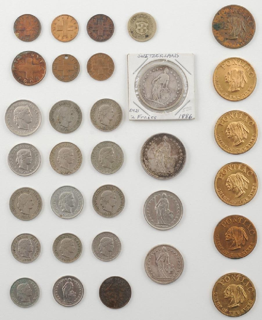 Miscellaneous Foreign and United States Coins