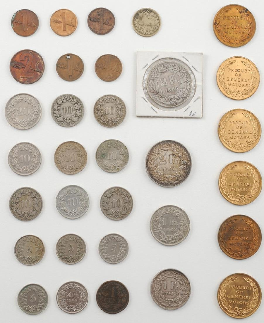 Miscellaneous Foreign and United States Coins - 2