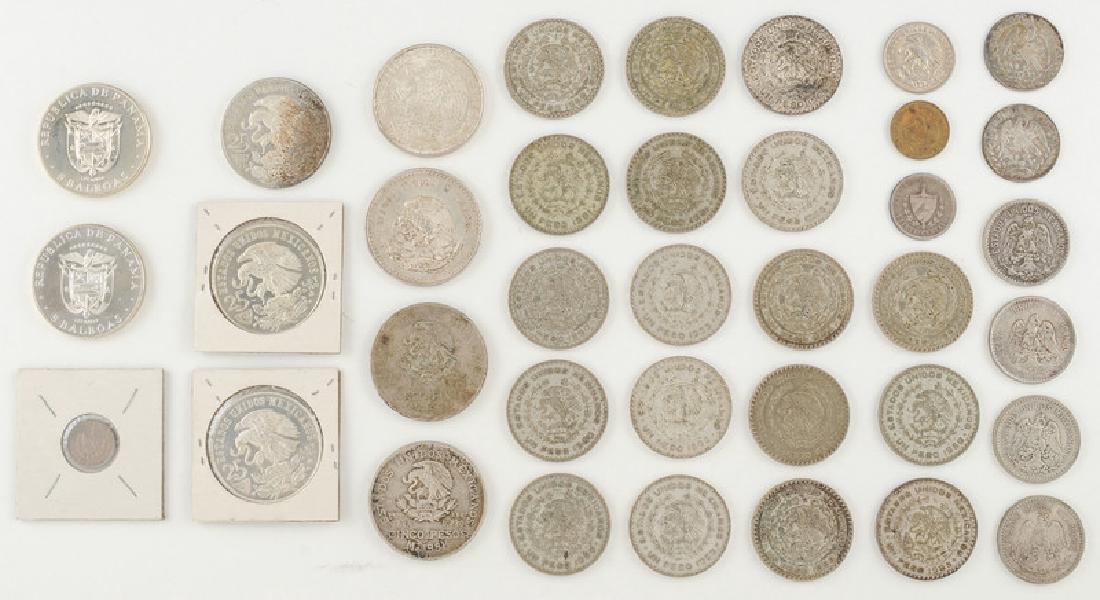 Mexican, Cuban, and Panamanian Coins