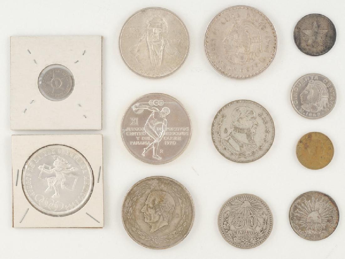 Mexican, Cuban, and Panamanian Coins - 2