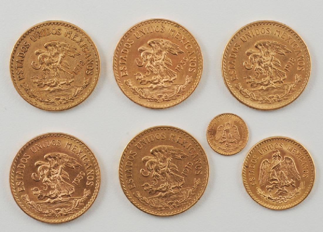 Mexican Gold Pesos