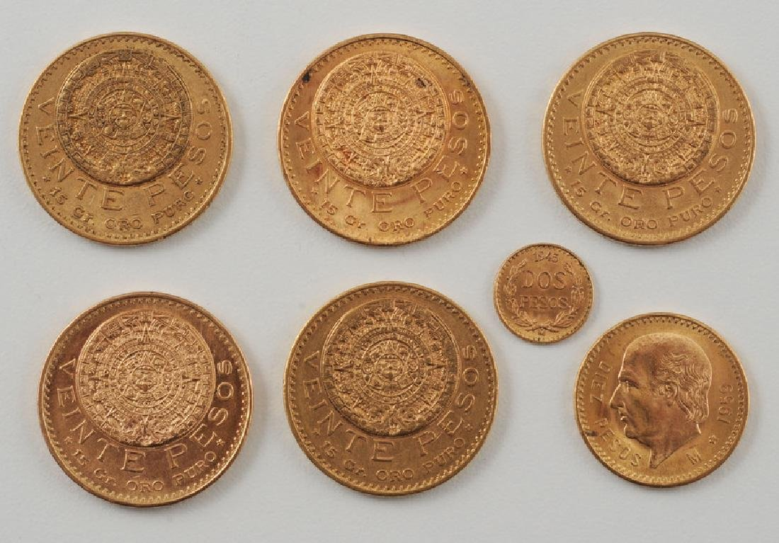 Mexican Gold Pesos - 2