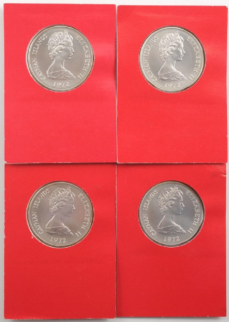 Cayman Islands Sterling Silver Commemorative Coins Ca. - 2