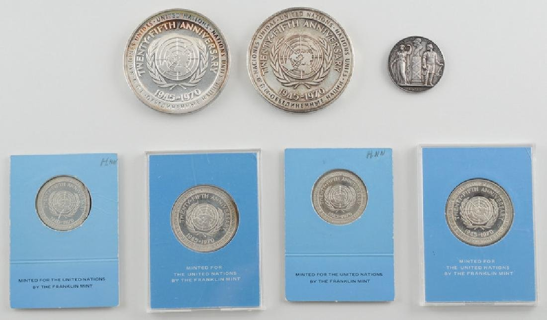 United Nations 25th Anniversary Sterling Silver - 2