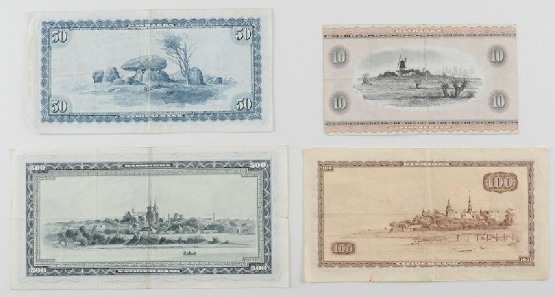 Denmark Paper Currency, Assorted - 2