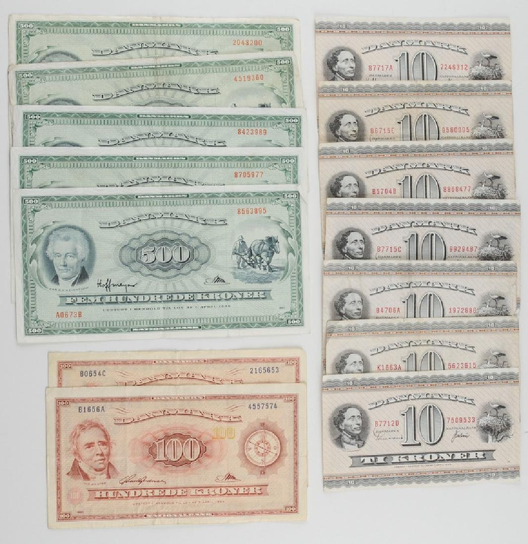 Denmark Currency, Assorted