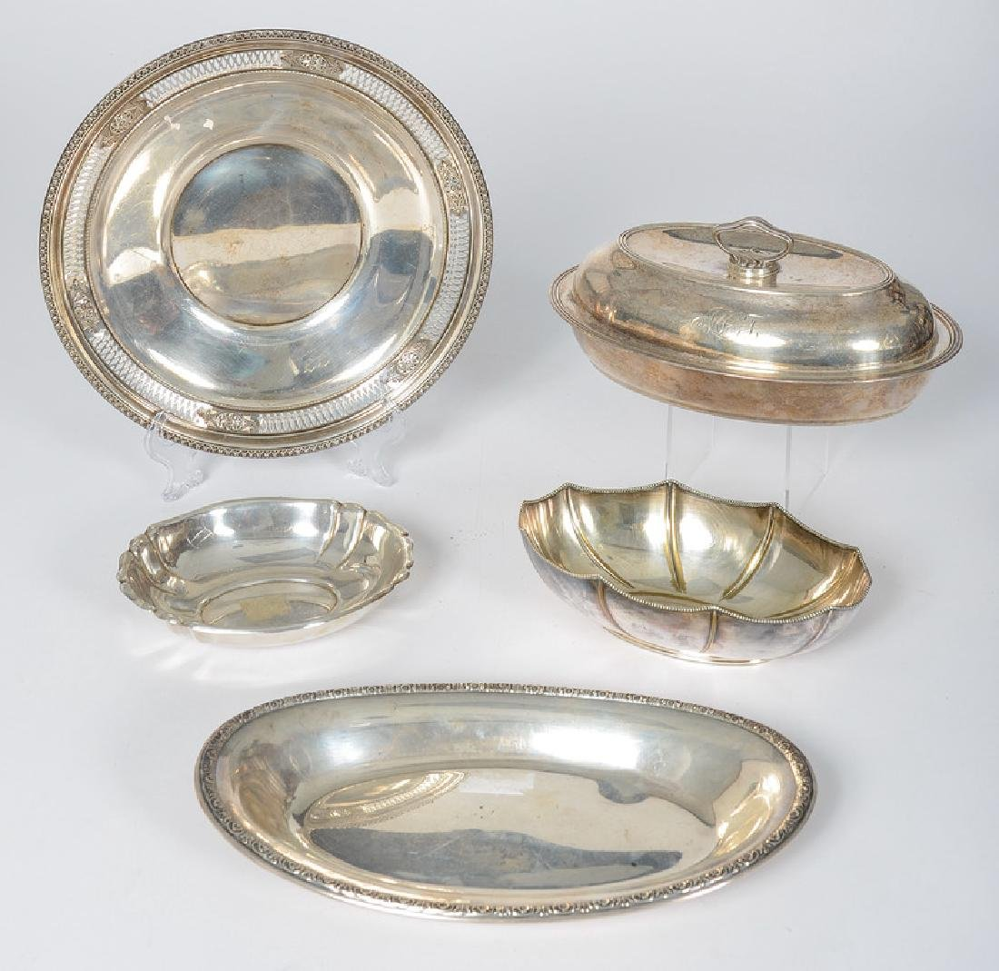 American Sterling Bowls and Serving Dishes, Plus