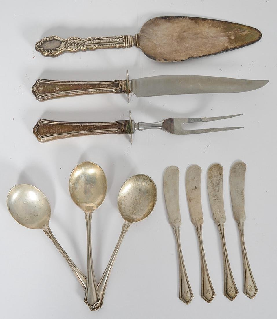 Wallace & Sons Sterling Serving Utensils and Flatware,