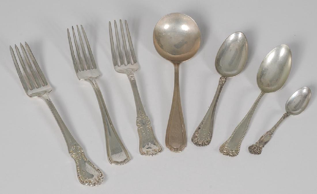 American Sterling Flatware Including Gorham and Wallace