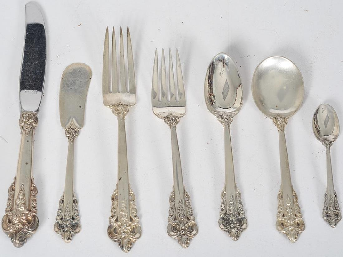 Wallace Sterling Flatware Set, Grand Baroque