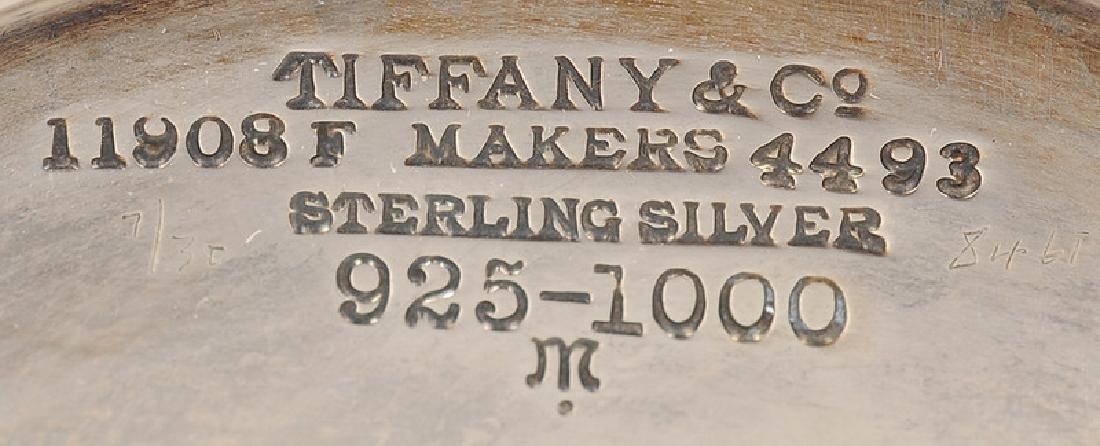 Tiffany Sterling Trumpet Vase, Plus - 3