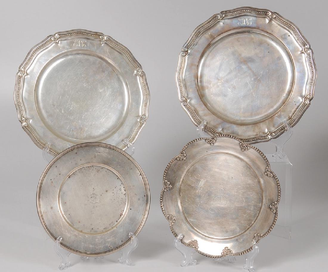 Tiffany & Co. Sterling Plates