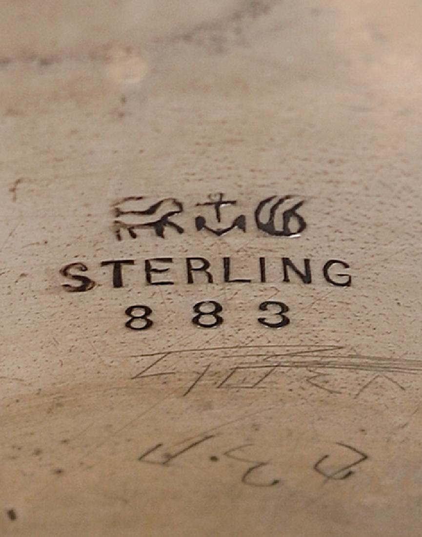 Silver Napkin Rings - 4