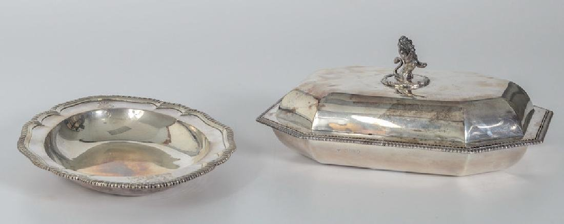 Georgian Sterling Serving Dishes