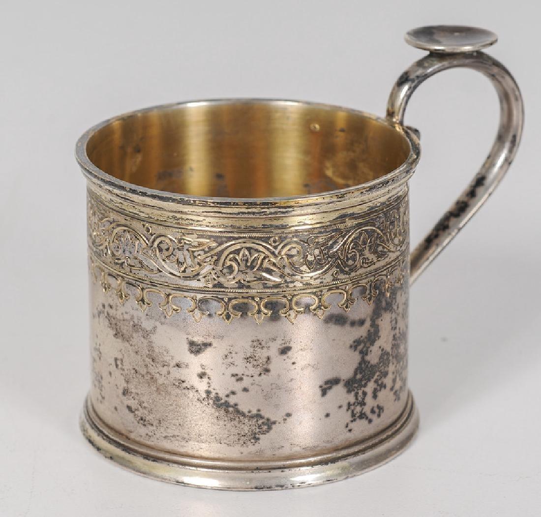Russian Silver Tea Glass Holder