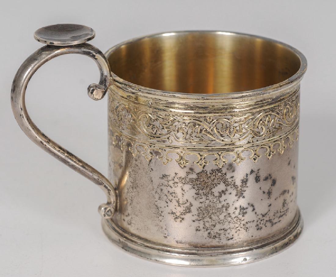 Russian Silver Tea Glass Holder - 2