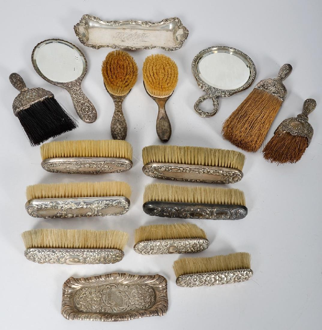 Sterling Brushes and Accessories, Including Gorham