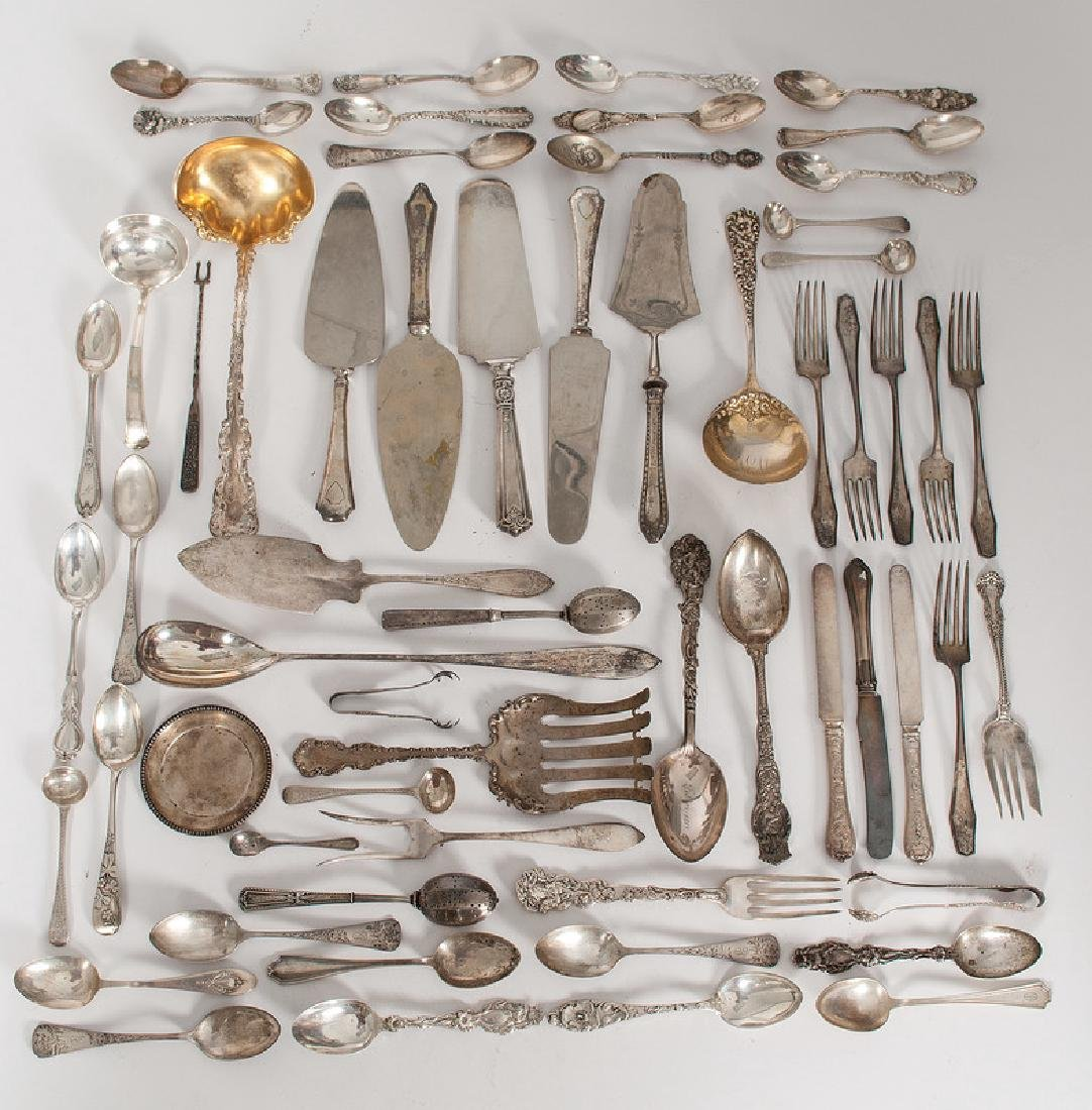 American Sterling Flatware, Including Serving Pieces