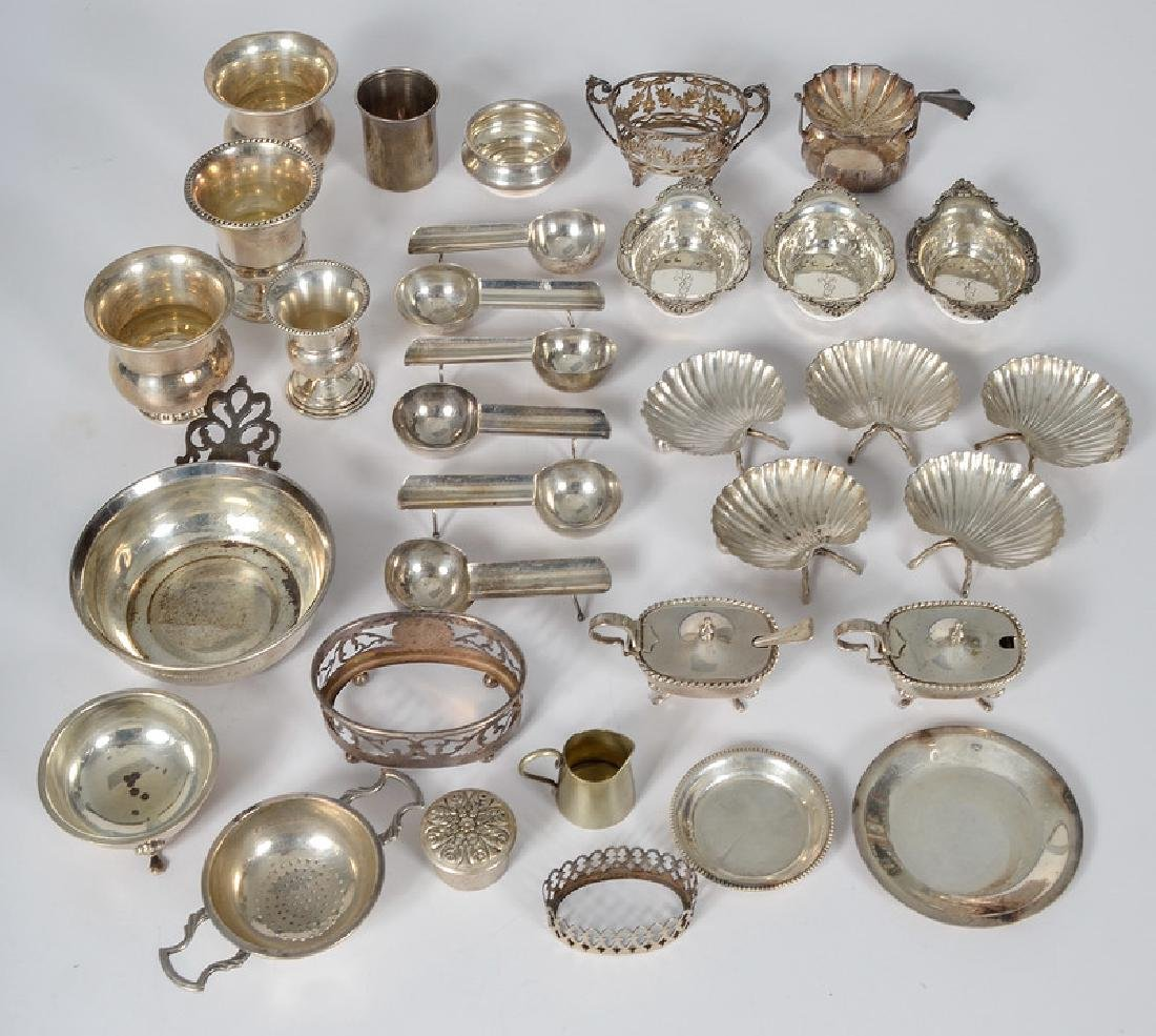 Silver Tablewares, Sterling and Silverplate