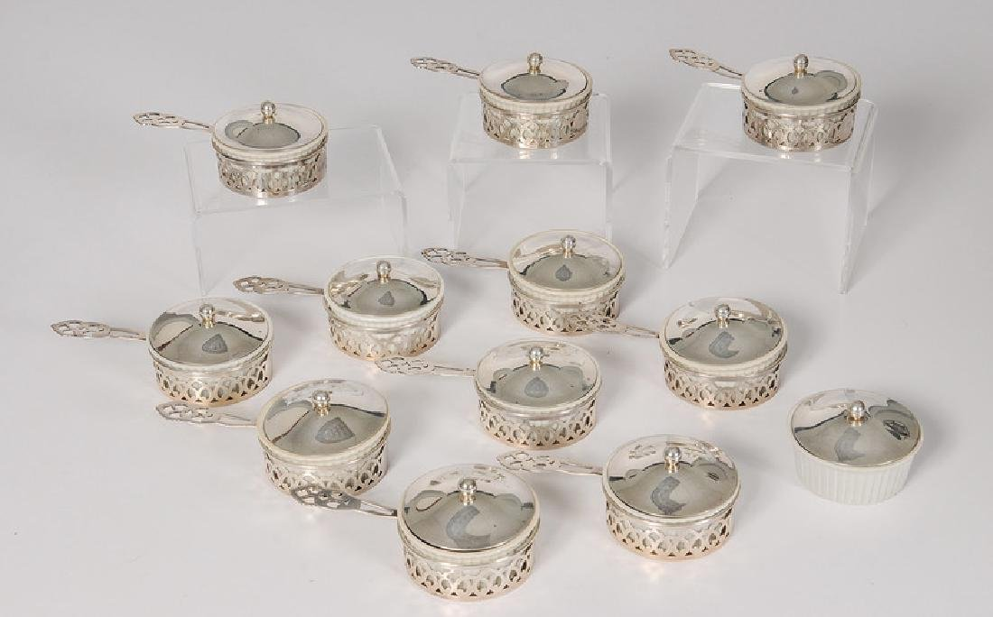 Reed & Barton Sterling Ramekin Holders