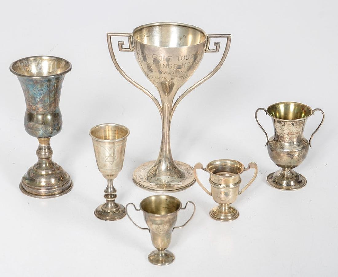 Sterling Trophies and Chalices