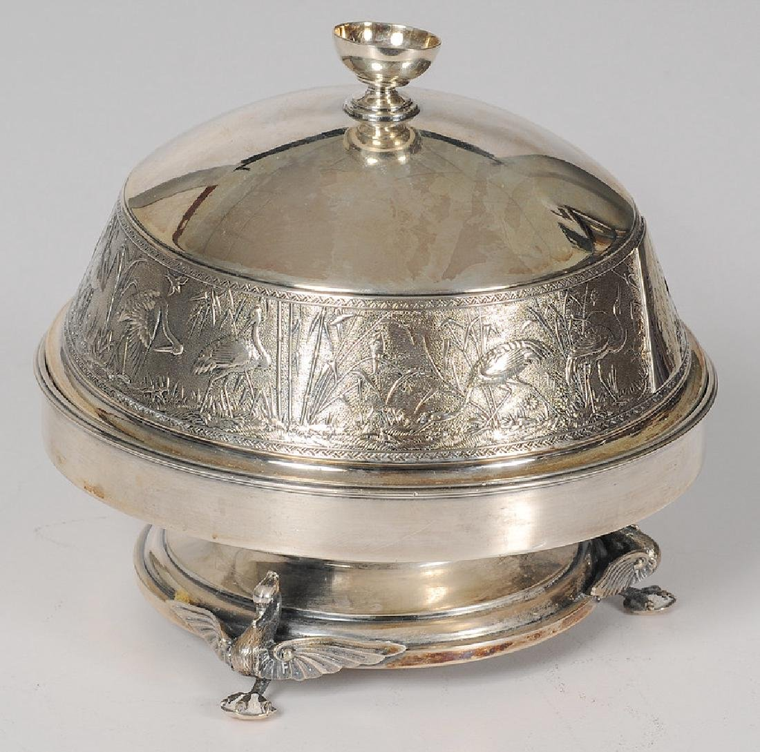 Whiting Mfg. Co. Aesthetic Movement Butter Dish
