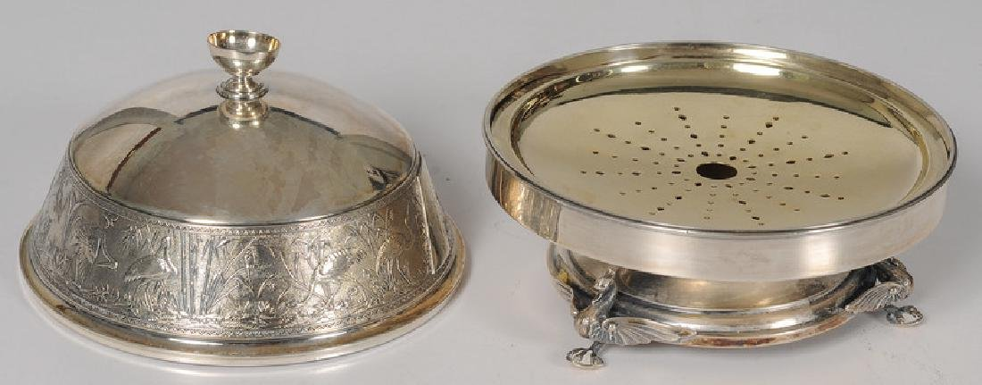 Whiting Mfg. Co. Aesthetic Movement Butter Dish - 2