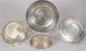 American Sterling Hollow Ware Including Towle and Alvin
