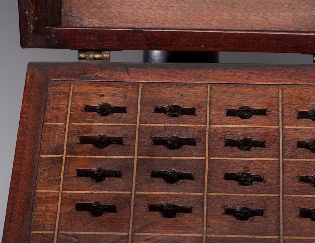George III Mahogany Knife Boxes - 4
