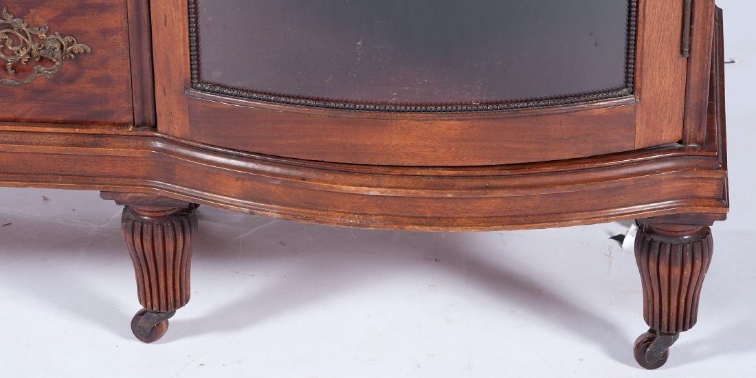 Victorian Mahogany Cabinet and Bookcase - 5