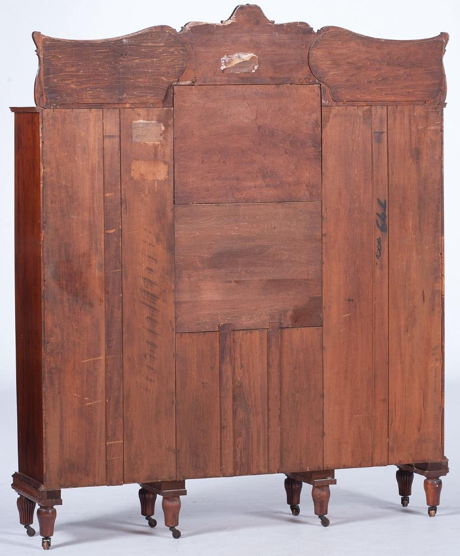 Victorian Mahogany Cabinet and Bookcase - 6