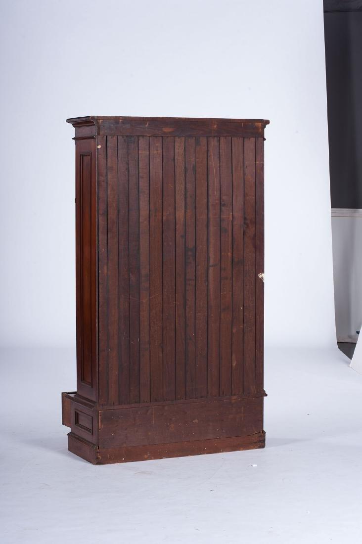 Victorian Walnut Bookcase - 2