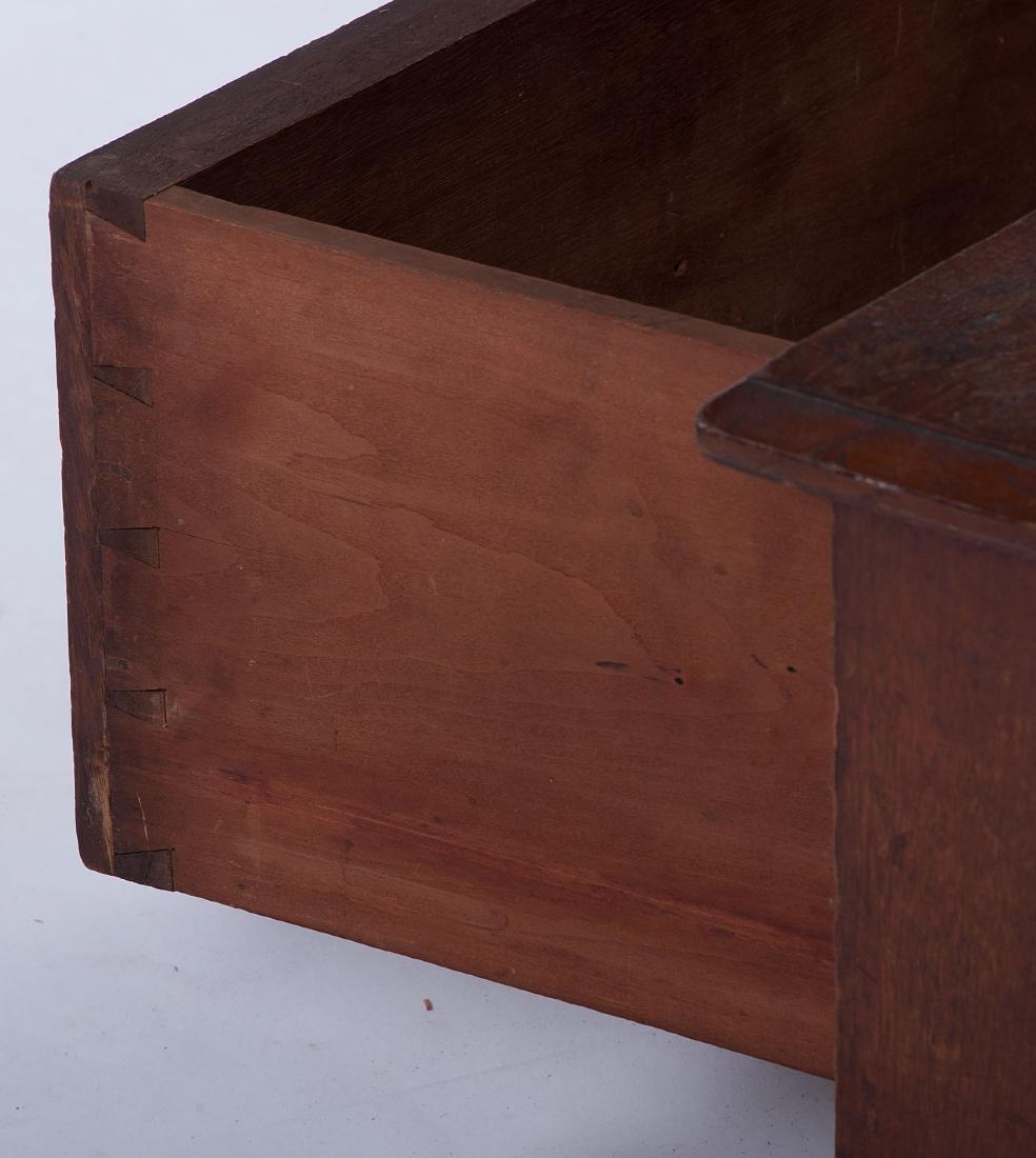 Victorian Walnut Bookcase - 3