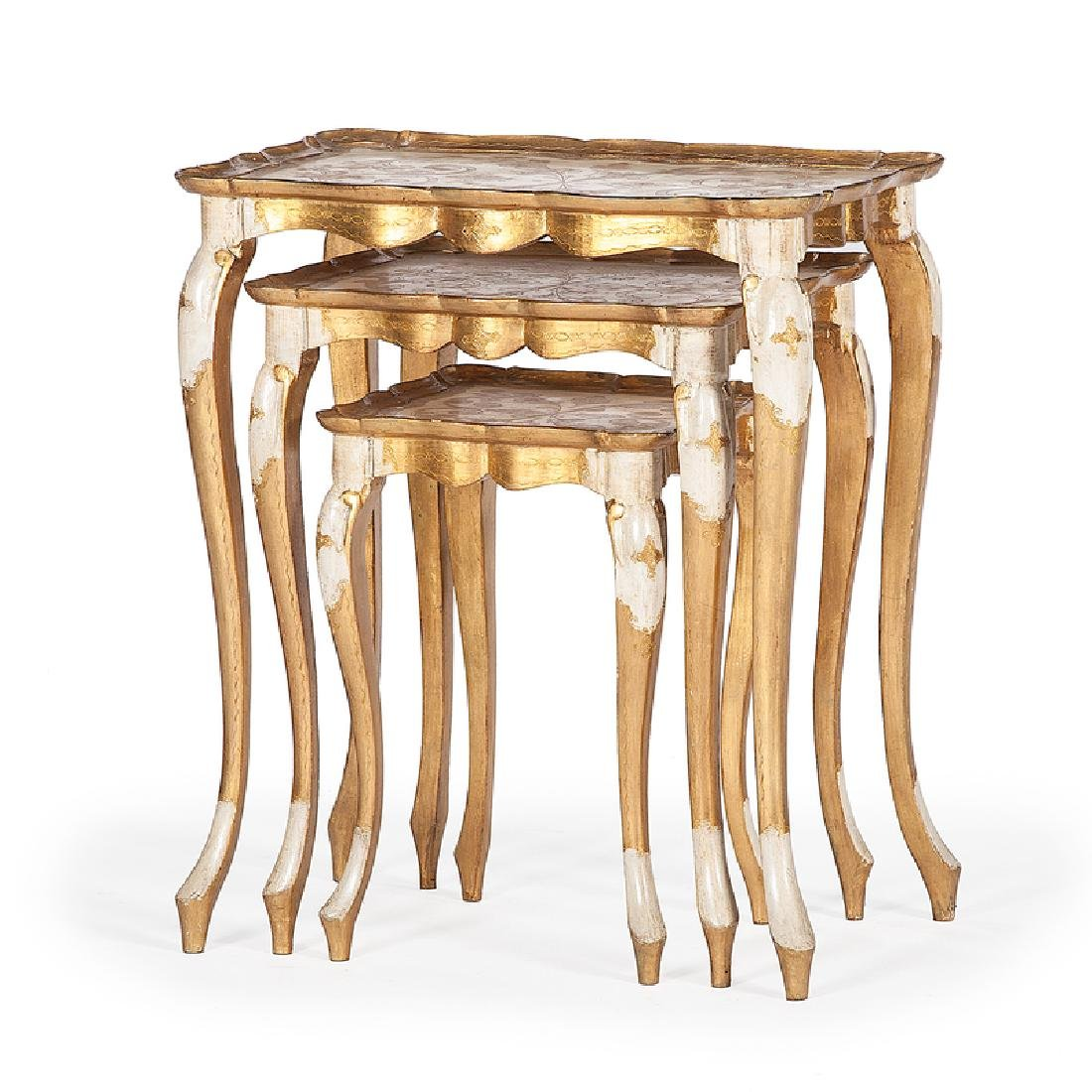 Giltwood Nesting Tables