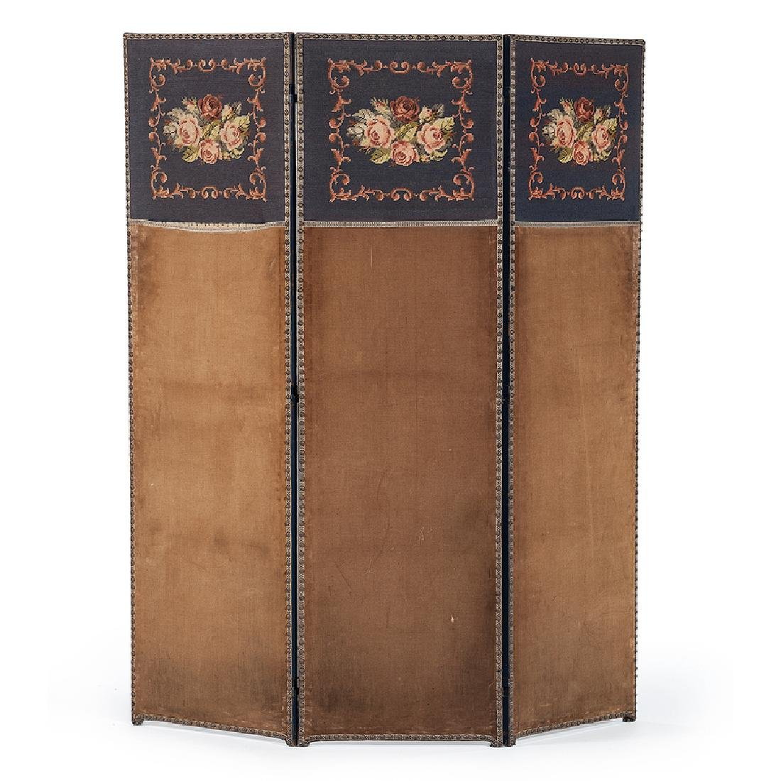 Arts and Crafts Upholstered Screen