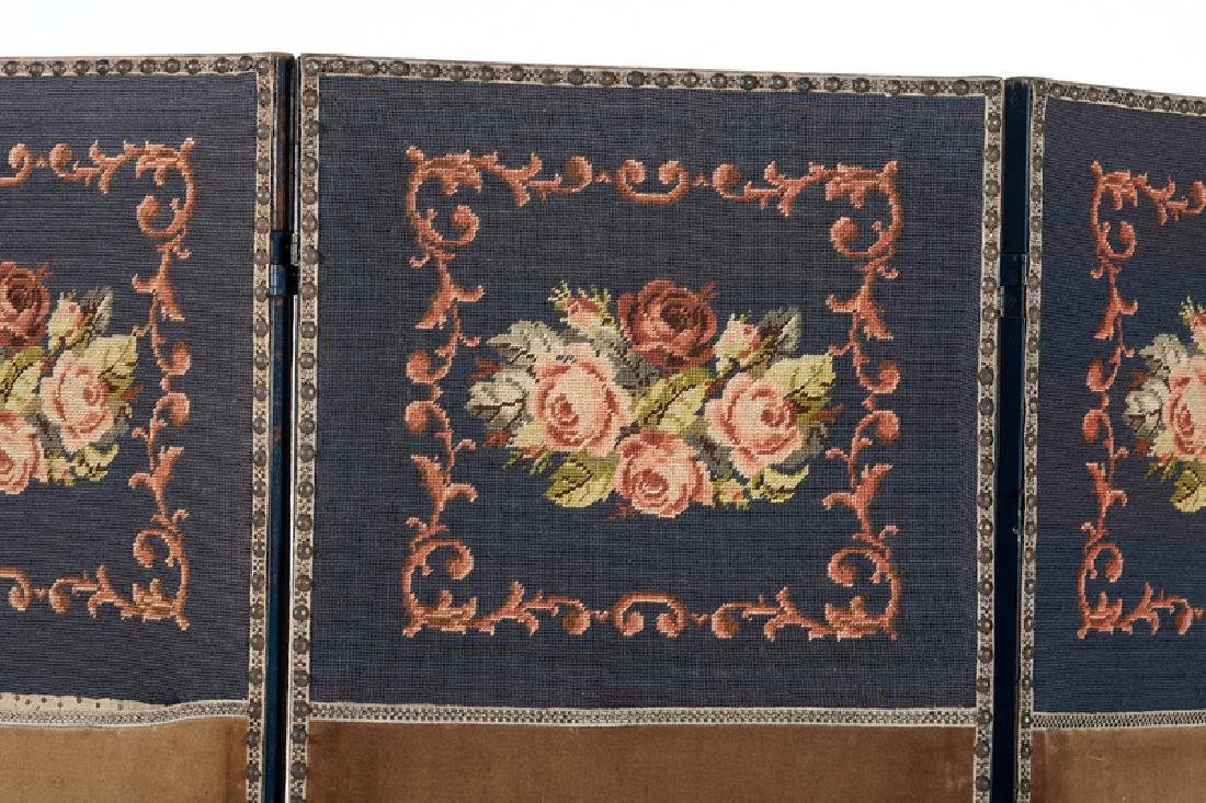 Arts and Crafts Upholstered Screen - 2