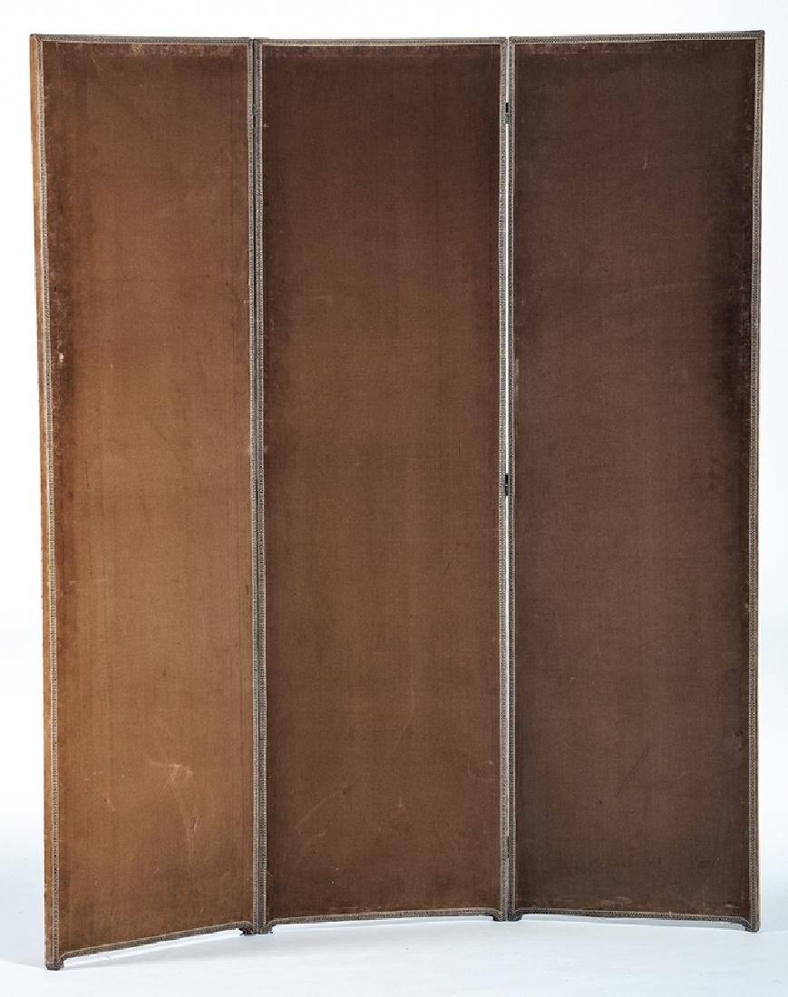 Arts and Crafts Upholstered Screen - 3