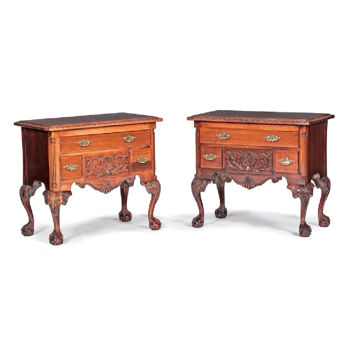 Chippendale-style Dressing Tables