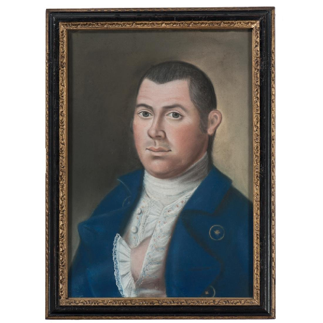 Pastel Portraits of Captain John Collins and Mary - 3