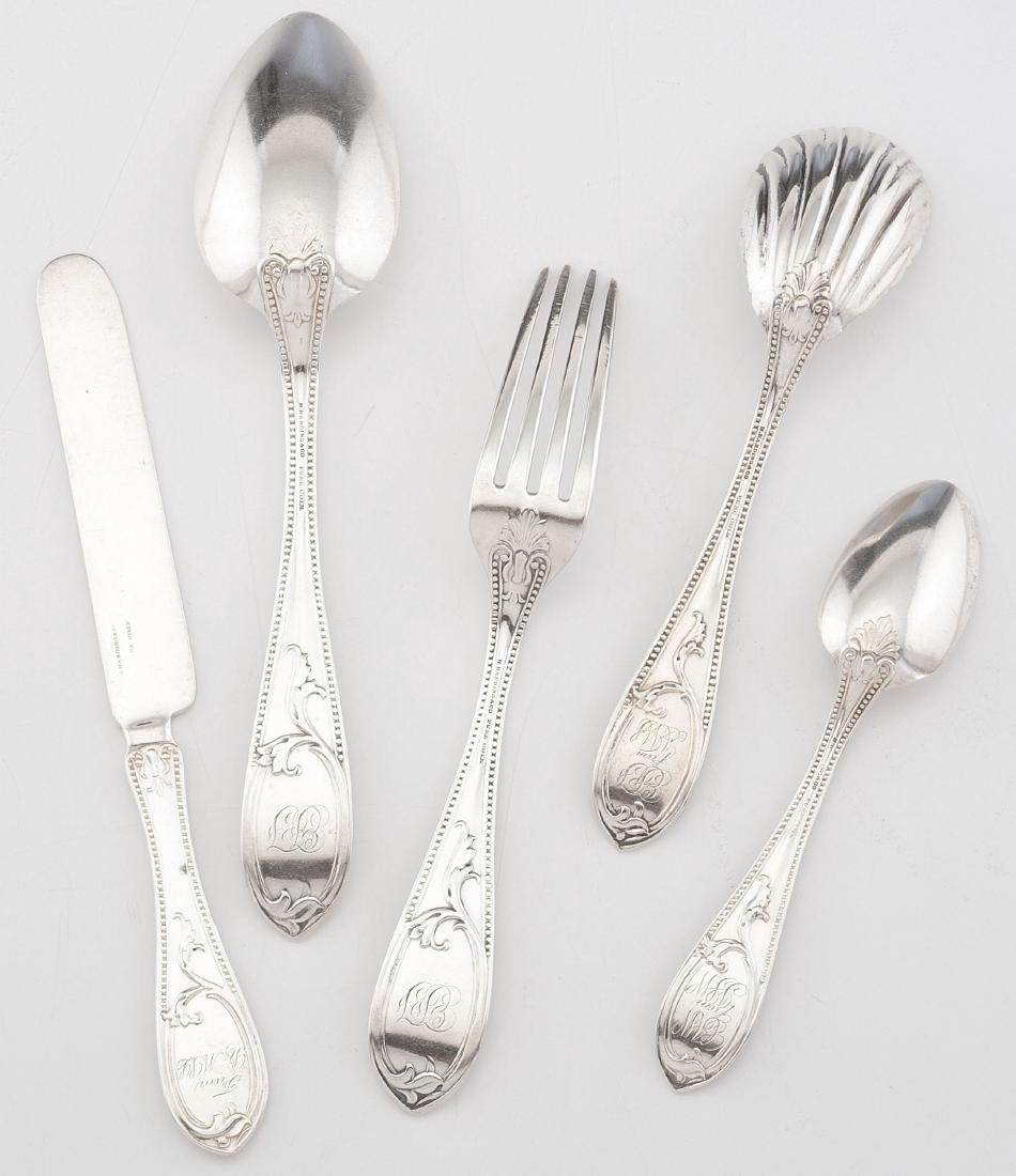 Boston Coin Silver Flatware, Newell Harding - 2